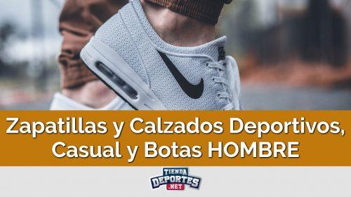 Zapatillas y Calzados Deportivos, Casual y Botas HOMBRE